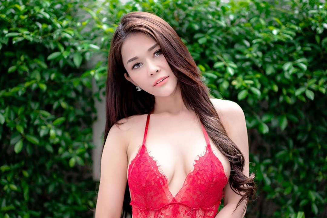 asian Thai girl in lingery