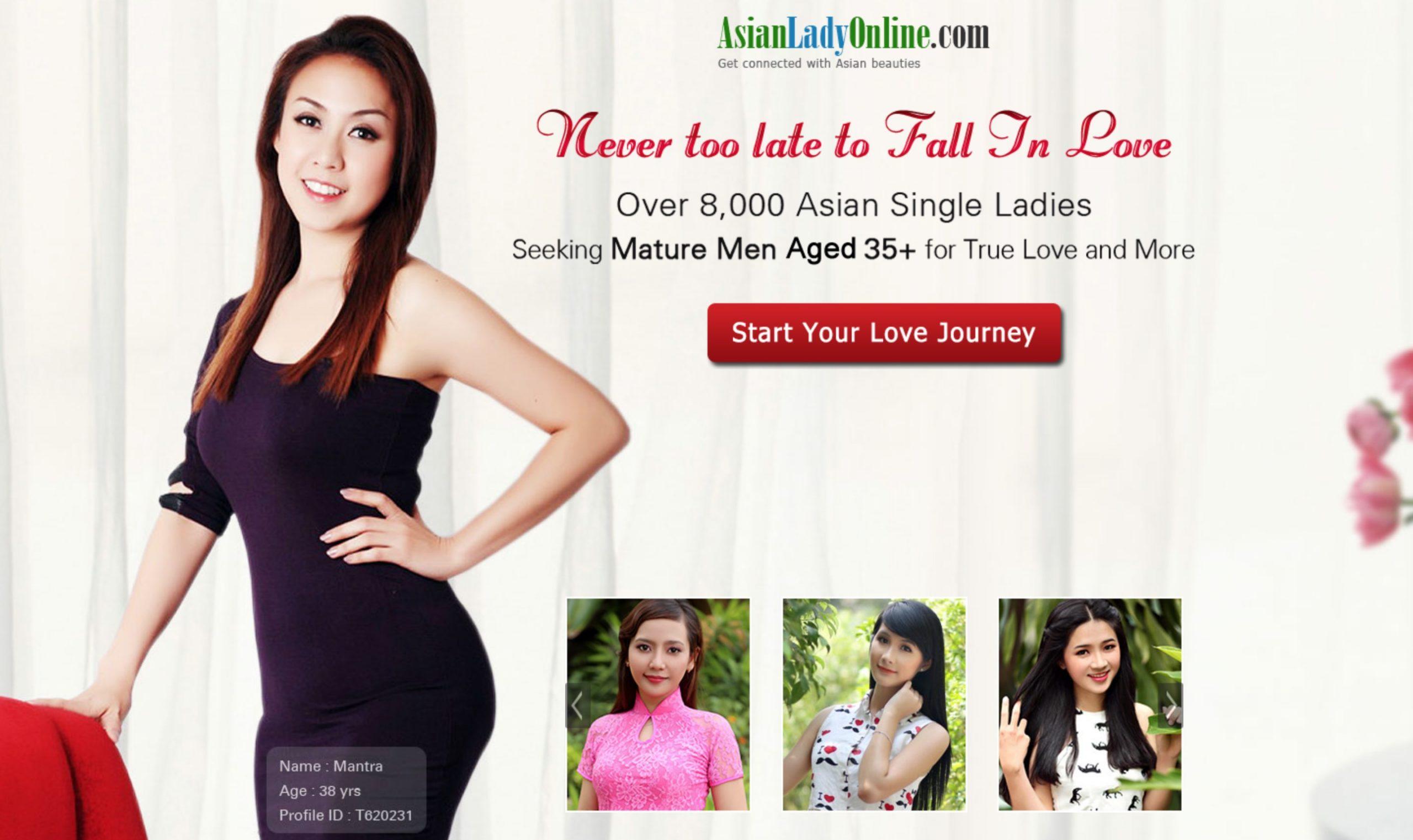 AsianLadyOnline main page