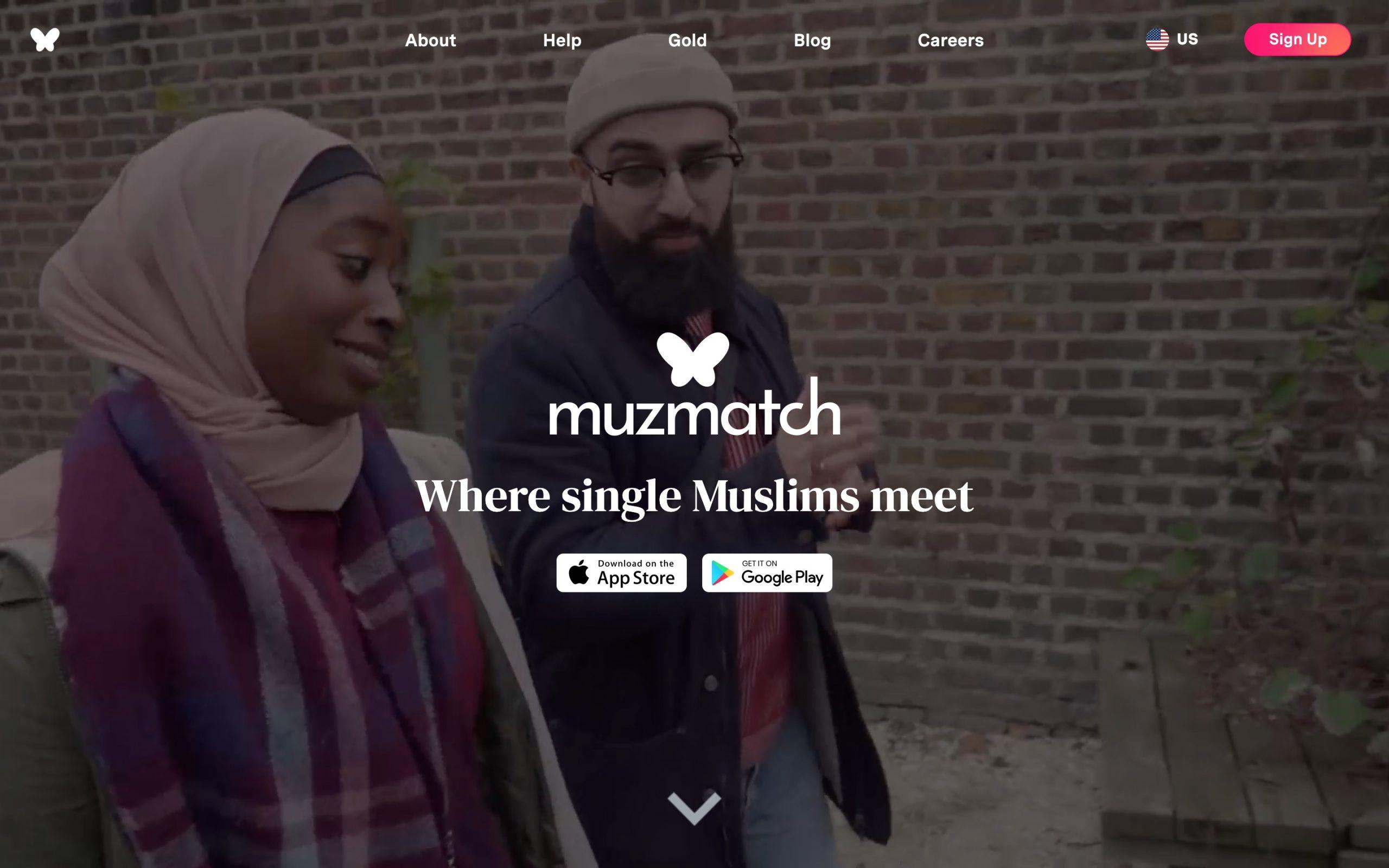MuzMatch main page