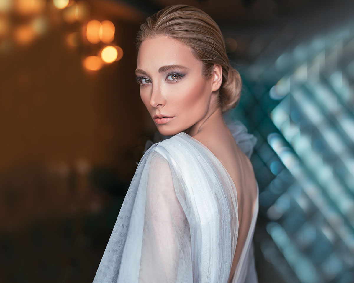 Pretty Swedish woman