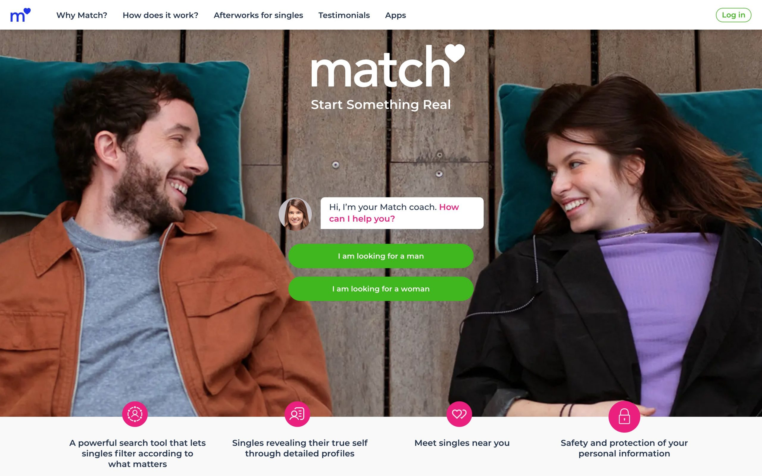 ie.match.com main page